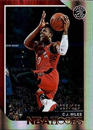 ea671bd30c0 2018-19 Panini Hoops Premium Box Set Basketball #46 C.J. Miles SER199 Toronto  Raptors