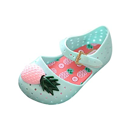 9e24a437bb2a4 Amazon.com: Toponly Girls Sweet Mary Jane Flat Princess Sandals ...