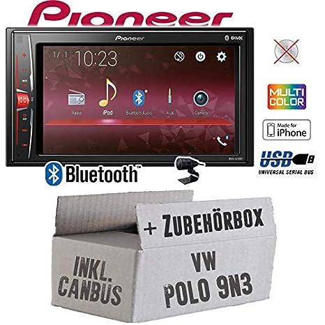 Autoradio Radio Pioneer MVH-A210BT - 2-DIN Bluetooth | MP3 | USB ...