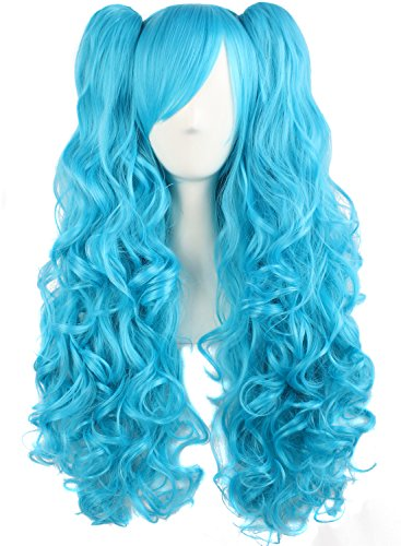 MapofBeauty Lolita Curly Ponytails Cosplay product image