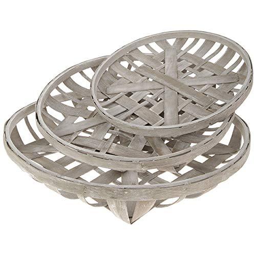 RAZ Imports Tobacco Baskets, Set of 3 - Medium 18,Large 22, X-Large 25 by RAZ Imports (Image #1)