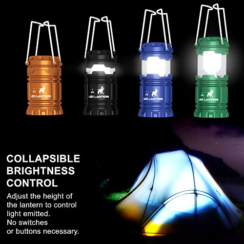 MalloMe-LED-Camping-Lantern-Flashlights-Camping-Gear-Accessories-Equipment-Great-for-Emergency-Tent-Light-Backpacking-4-Pack-Gift-Set