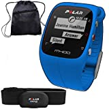 Polar 90057187KT- M400 GPS Training Companion with Heart Rate with Bag - Blue by Polar