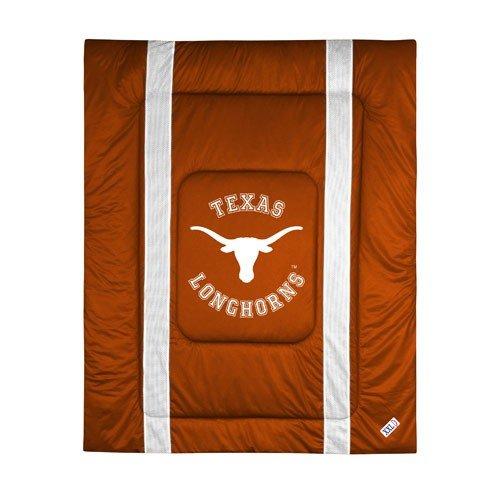 NCAA Texas Longhorns Sideline Comforter Queen Texas Tech Comforter