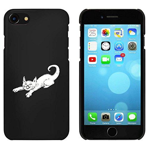 Noir 'Étirage Chat' étui / housse pour iPhone 7 (MC00076963)