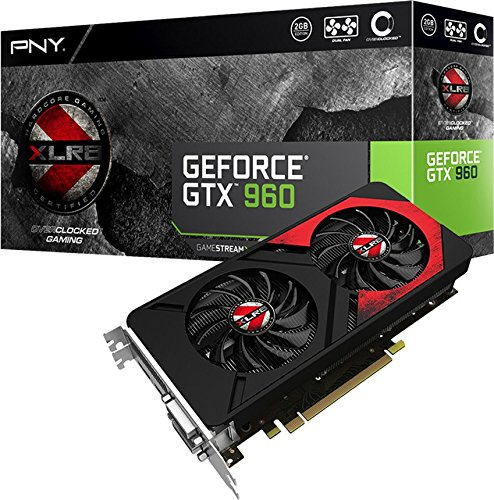 Amazon.com: PNY GeForce GTX 960 2 GB XLR8 OC Gaming Tarjetas ...
