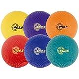 Champion Sports 8.5 Inch Playground Ball (Set of 6)
