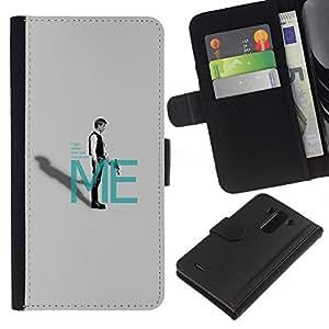 All Phone Most Case / Oferta Especial Cáscara Funda de cuero Monedero Cubierta de proteccion Caso / Wallet Case for LG G3 // Take Orders From Me - Han Sol0