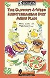 The Oldways 4-Week Mediterranean Diet Menu Plan, Oldways, 0985893907