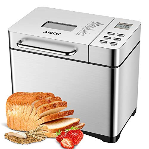 Automatic Bread Maker, Aicok 2 P...
