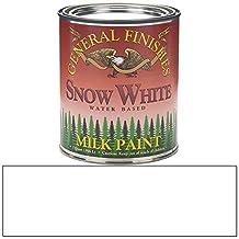 General Finishes QSW Milk Paint, 1 quart, Snow White
