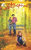 Love Reunited (Love Inspired) by Renee Andrews front cover