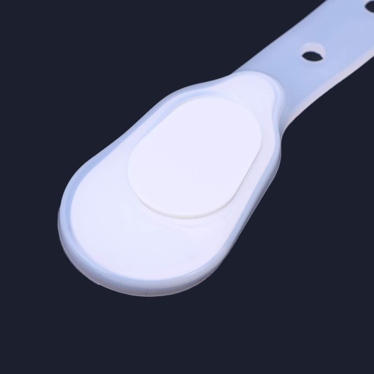 LIOOBO Abbigliamento Clip Flash LED Torce elettriche per lescursionismo Running Sport demergenza Camping Rosso
