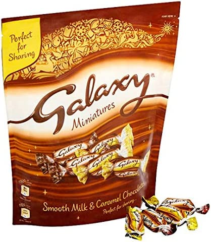 Galaxy Chocolate Miniatures Large Pouch 413.5g
