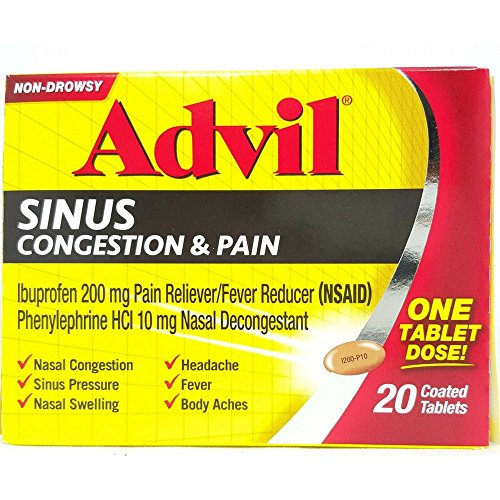 ADVIL CONGESTION RELIEF PE 20TB