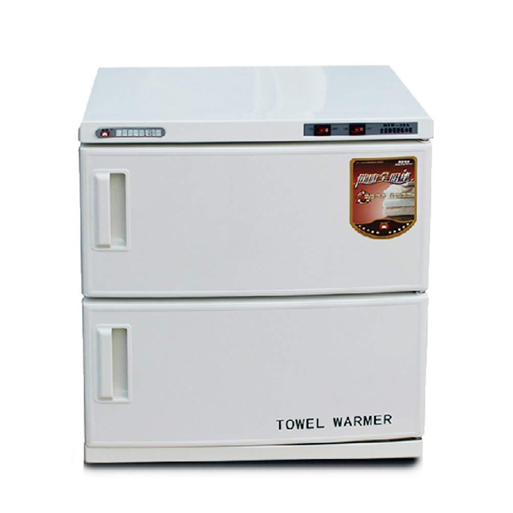 32L 2 en 1 Eléctrico Esterilizador de Toallas Y Ultravioleta UV Toalla Calentador Gabinete Facial Piel Cuidado SPA Belleza Barbero Salón Toalla Desinfección ...