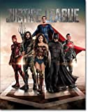 "New Justice League 16"" x 12.5"" (D2255) Super Heroes Tin Sign"