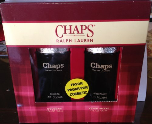 Chaps By Ralph Lauren 2 Pc SET with 1. Oz Cologne Splash and 1. Oz After Shave
