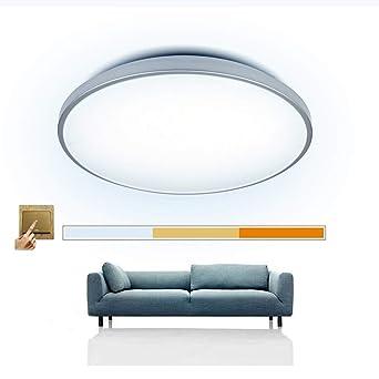 LED Deckenlampe Scene Switch Deckenleuchte 16W 3-in-1 (Warmweiß ...