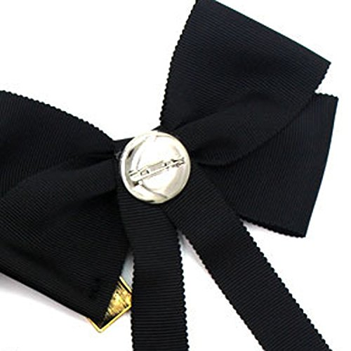 Baolustre European And American Red And Green Ribbon Clothing Bow Brooch Fangy170800408,Pa01 by Baolustre (Image #2)