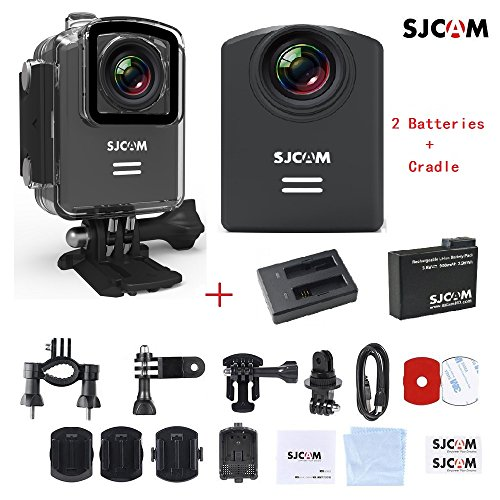 SJCAM M20 Sports Action Camera 4K 24fps 1080P 60fps Full HD Novatek NTK96660 16MP 166°Wide Angle Waterproof 30M WiFi Anti-Shake Camcorder Video DV Car DVR FPV