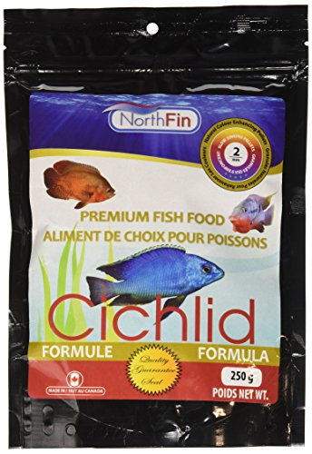 Northfin Food Cichlid Formula 2Mm Pellet 250 Gram Package ()