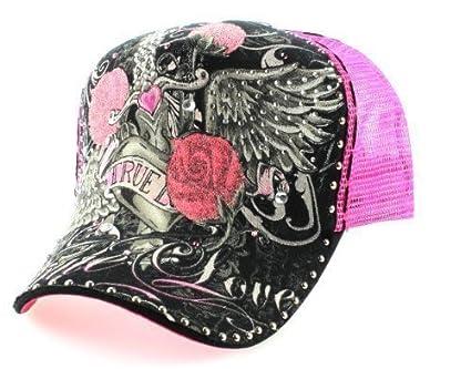 Diseño de rosas con malla Cap True Love en color rosa con muchos ...