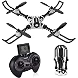 SIMREX X500 Drone RC Quadcopter Altitude Hold Headless RTF 3D 360 Degree Flips & Rolls 6-Axis Gyro 4CH 2.4Ghz Remote Control Helicopter Height Hold Steady Super Easy Fly for Training