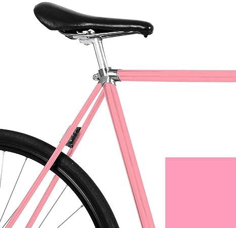 mooxi de Bike Bicicleta de Pantalla Brillante Color Rosa para el Marco de tu fahrrads (Suficiente para Todo un Rueda): Amazon.es: Deportes y aire libre