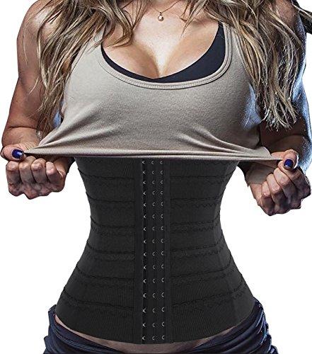 Chumian Hourglass Waist Trainer Corset Fat Burner Tummy ...