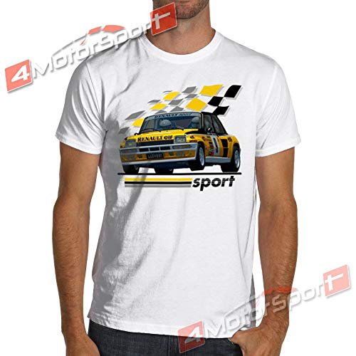 Amazon.com: 1983 R5 Renault 5 Turbo Rally WRC Racinger T-Shirt Maxi Gt Alpine Jean Ragnotti: Kitchen & Dining