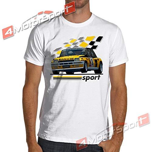 Amazon.com: 1983 R5 Renault 5 Turbo Rally WRC Racinger T-Shirt Maxi Gt Alpine Jean Ragnotti: Kitchen & Dining