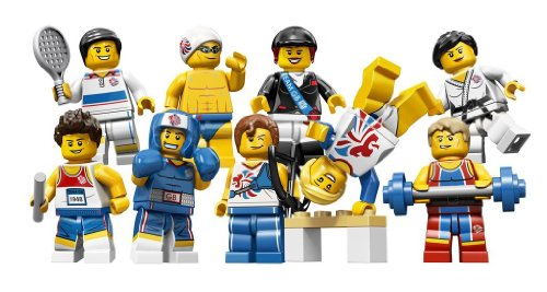 Lego Team GB Olympics Minifigures – Complete SET of 9 #8909 (Uk Exclusive), Baby & Kids Zone
