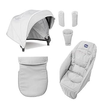Chicco Color Pack Special Edition - Kit de accessorios para silla de paseo, color carbón