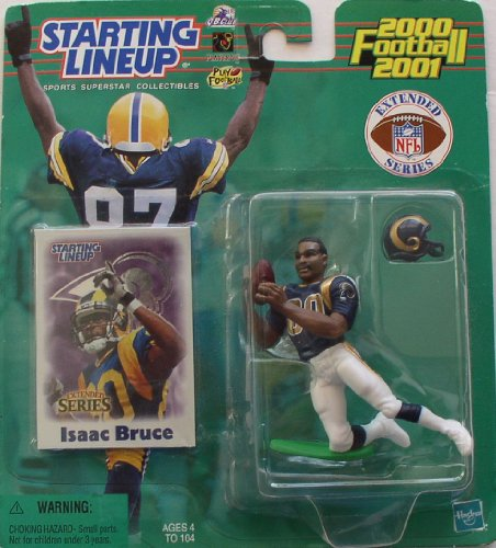 Starting Lineup 2000/2001 Isaac Bruce St. Louis Rams Action -
