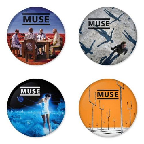 Muse Rock Band (MUSE round badges 1.75