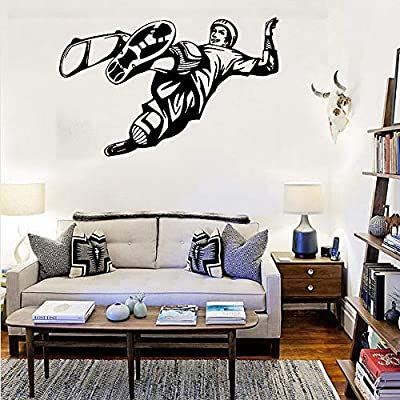 Cartel de pared de 88x56 cm, Skateboard Ride Boys Bed ...