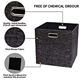 Storage Cube Basket Bin,Foldable Closet Organizer