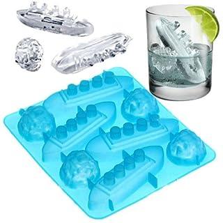 accessgood Titanic Shape Ice Tray