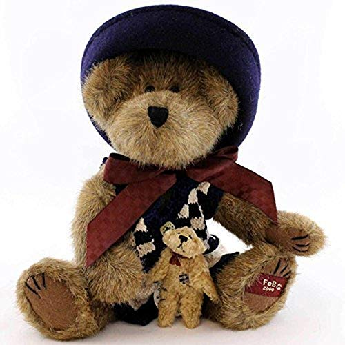Boyds Bears & Friends - Catherine Berriweather with Little Scruff - 2000 Exclusive Member Only Plush Bear Style # 02000-51 from Boyds Bears Bearwear