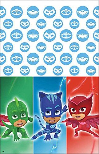 [PJ Masks Plastic Tablecover] (Disney Junior Pj Masks Costumes)