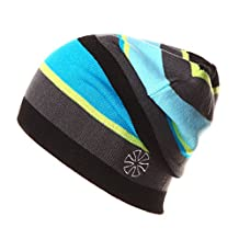 Apparelsales Mens Windproof Snow Cap Hat Crochet Wool Hat Ski Cap