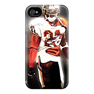 Iphone 4/4s Hard Back With Bumper Silicone Gel Tpu Case Cover Washington Redskins