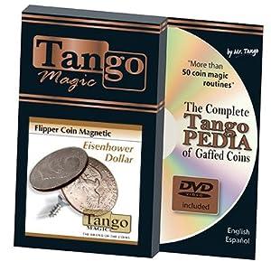 Magnetic Flipper Coin Eisenhower Dollar (D0041) by Tango