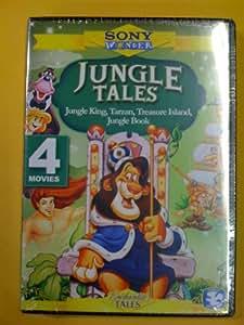 Jungle Tales (Jungle King / Tarzan of the Apes / Treasure Island / Jungle Book)