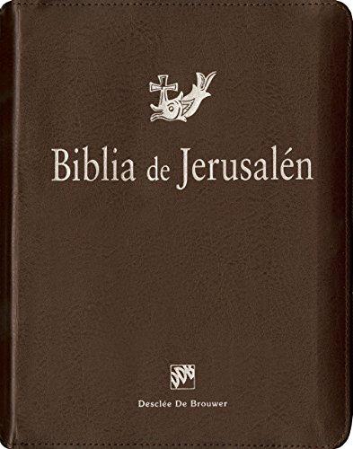 Biblia de Jerusalén: Manual Con Funda de Cremallera