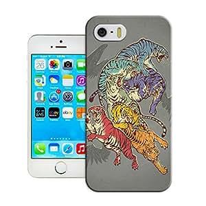 LarryToliver Customizable Figure Painting Logo iphone 5/5s case hard back cover
