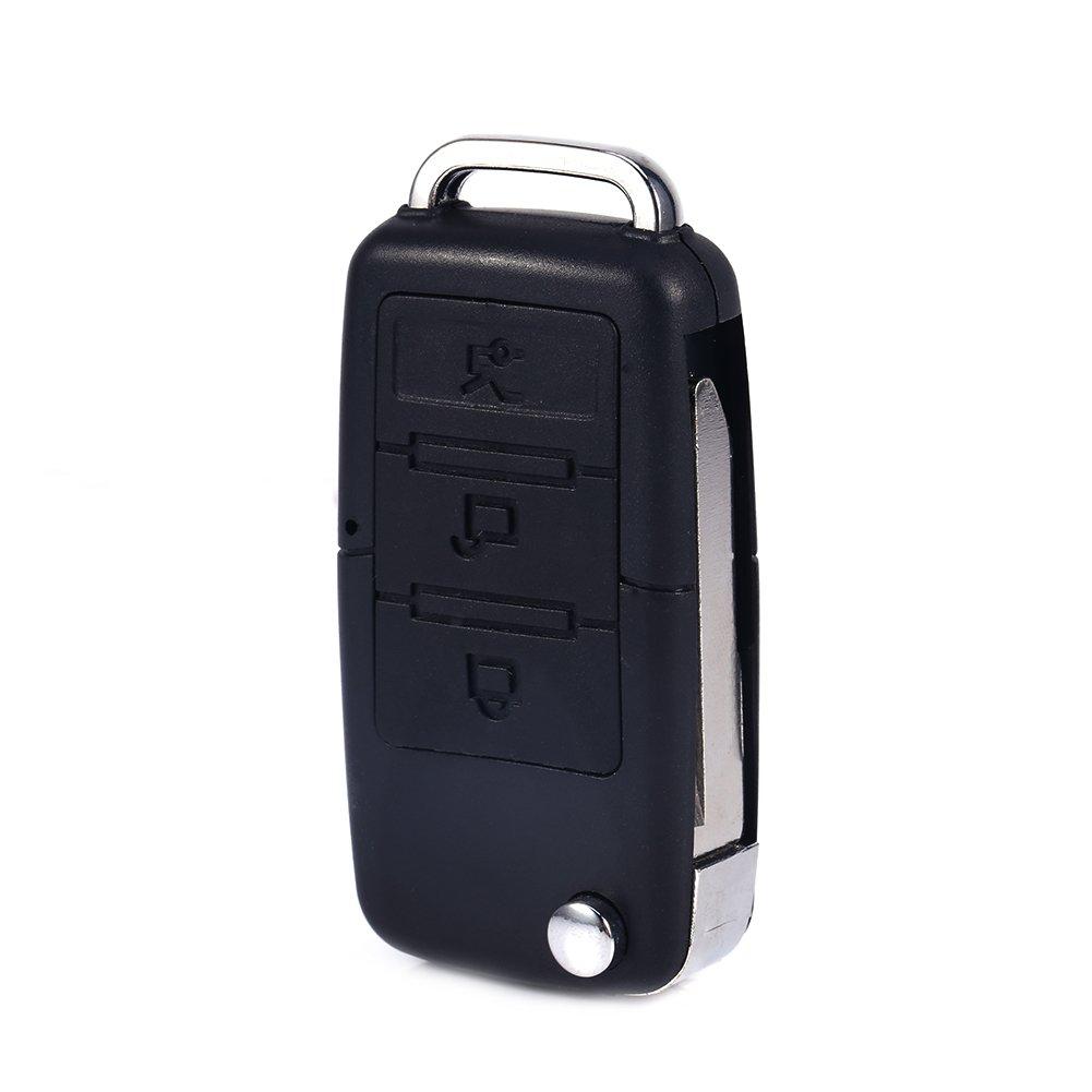 Mini 5pin Interface DC 5V DVR Key Chain Volkswagen Car Key HD Camcorder Video Recorder Audio Motion Detection Mini Camera