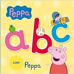 ABC con Peppa (Peppa Pig. Todo cartón): Amazon.es: Varios ...