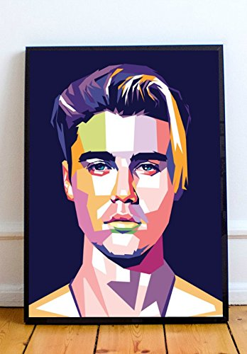 AAP Justin Bieber Limited Poster Artwork - Professional Wall Art Merchandise (More Sizes Available) (20x24) (Justin Bieber Picture Frame)